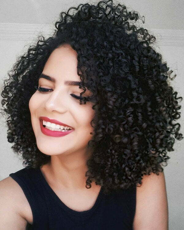 Hairstyles For Short Curly Hair Female