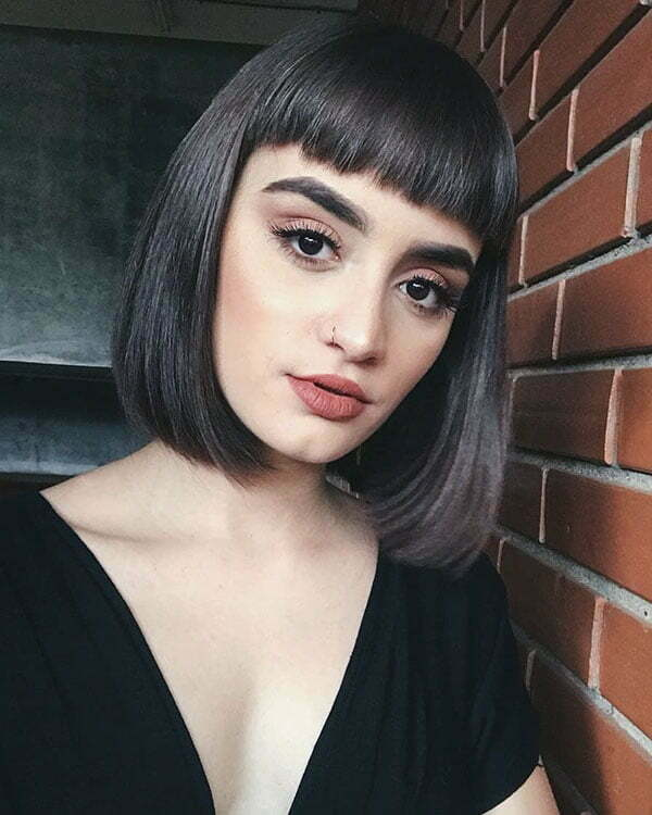 Bob Haircuts With Bangs