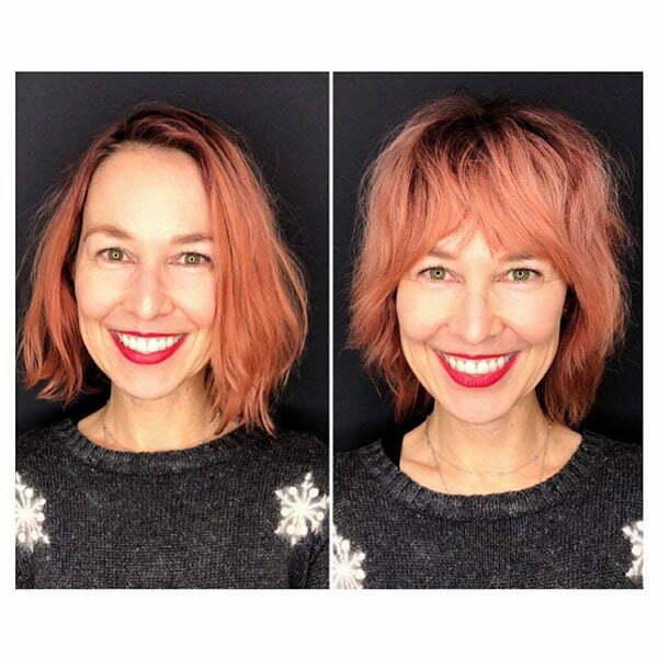 Short Hair Styles Older Women