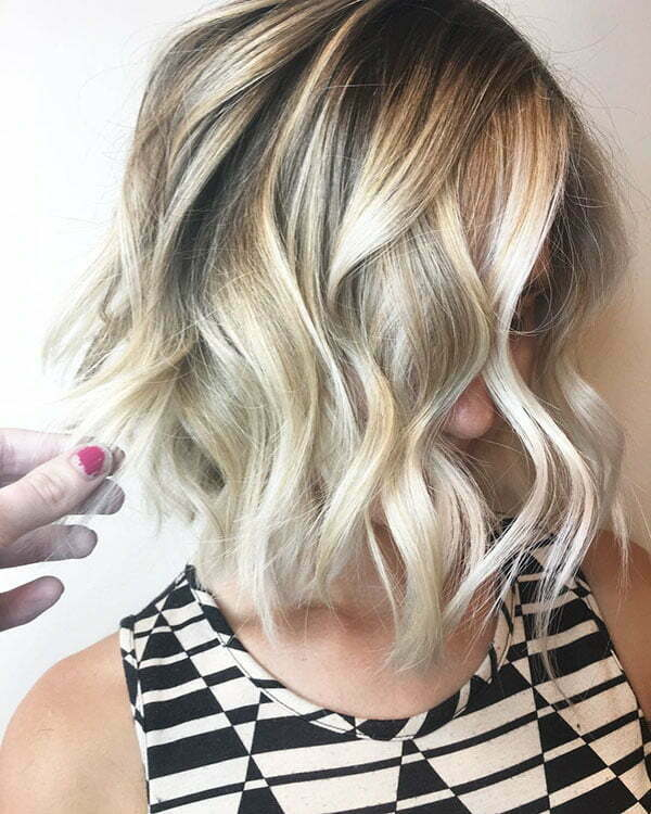 Short Bob Haircuts For Curly Hair