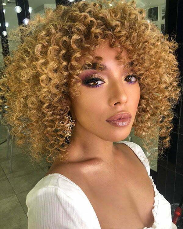 Kurze Afro-Frisuren