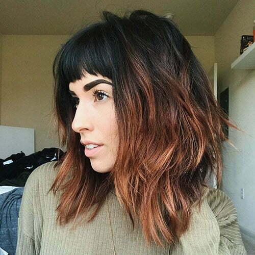 Frisurideen für kurzes Haar