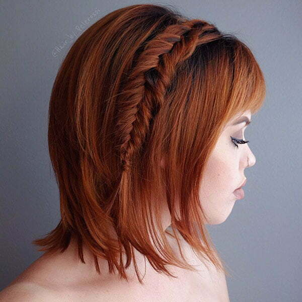 Cool Braids For Short Hair