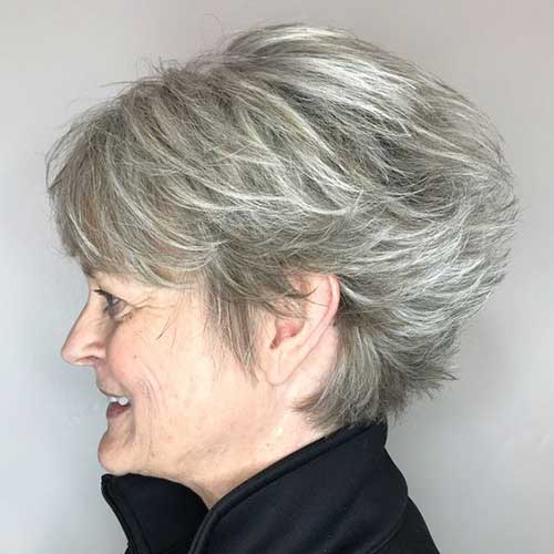 2019 Short Haircuts for Older Women