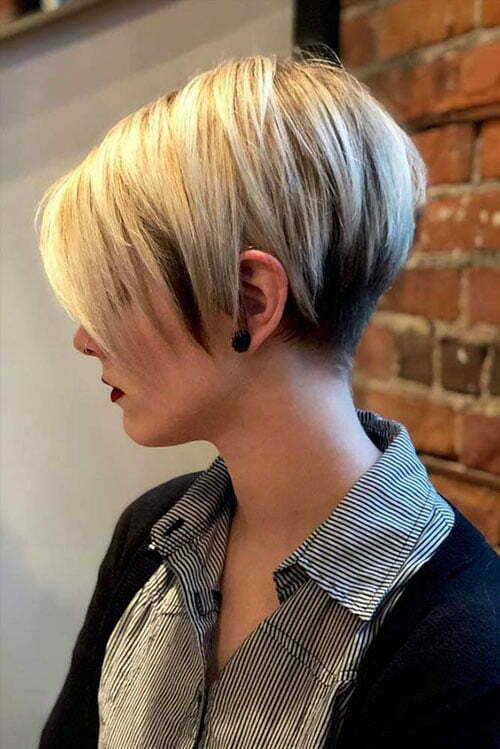 Short Layered Hair-6