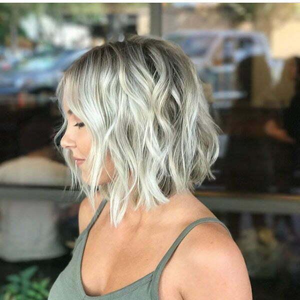 Wavy Blonde Hairstyles