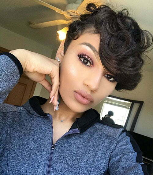 Pixie Cut Black Women