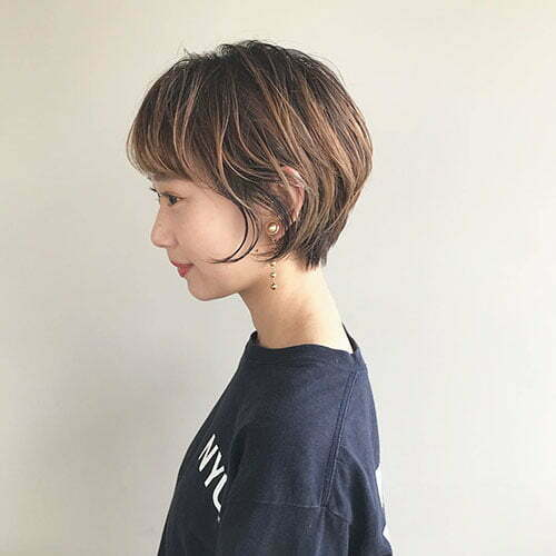 Long Pixie Haircut