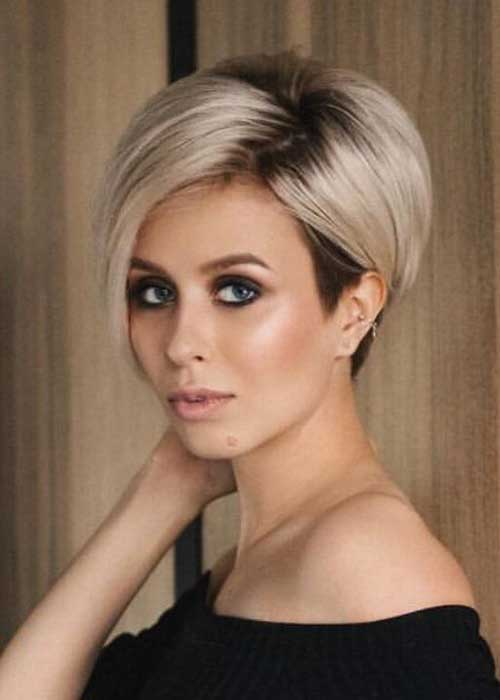 Best Short Fine Hairstyles Women 2019
