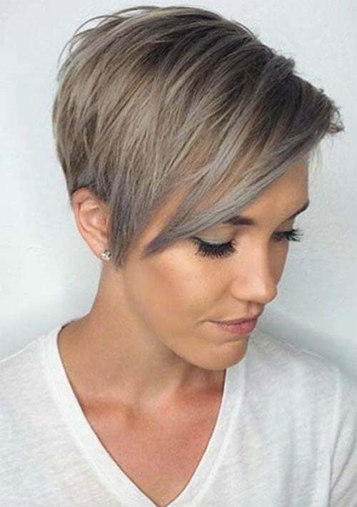 Short Layered Hair-8