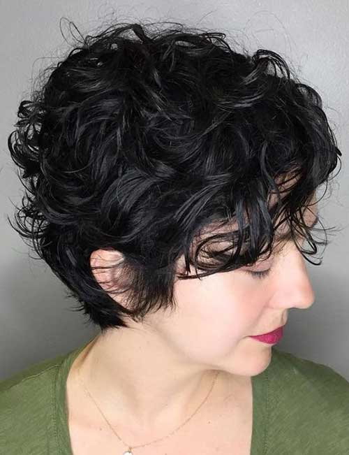 short haircut for curly hair curly hairstyles for 1269 | Cute Short Hairstyle Curly