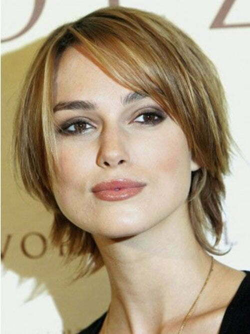 Short Layered Straight Hair