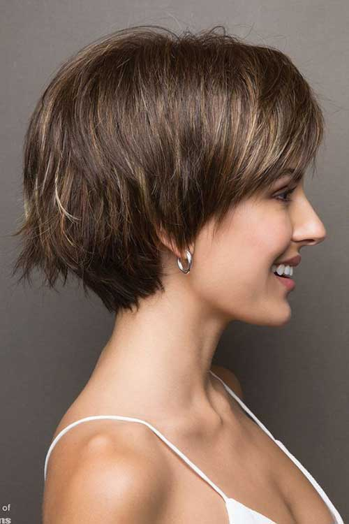 Pixie Bob Haircut &quot;title =&quot; Stacked Pixie Bob &quot;/&gt;</a></p><h2>6. Blondes Haar</h2><p> <a href=