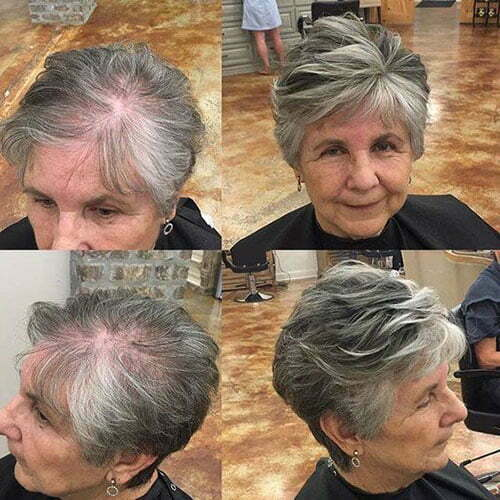 Best Short Haircuts for Women Over 50-10