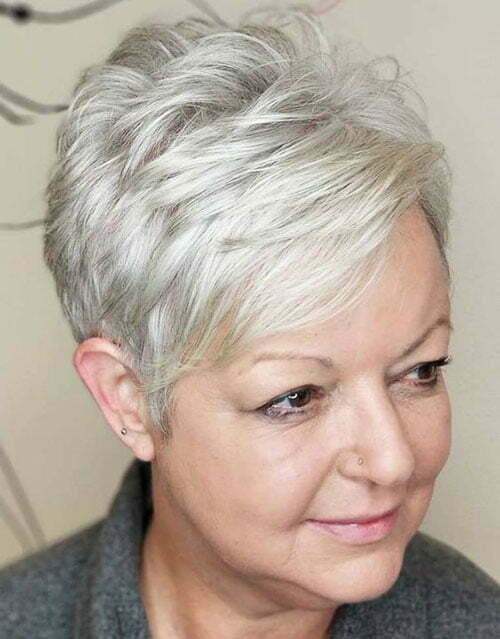 Older Women Pixie Haircuts For Women Over 50 105