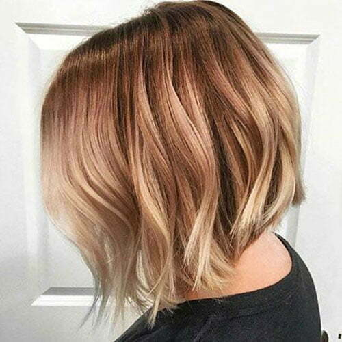 Popular Hair Colors for Short Hair-17