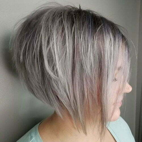 Popular Hair Colors for Short Hair-20