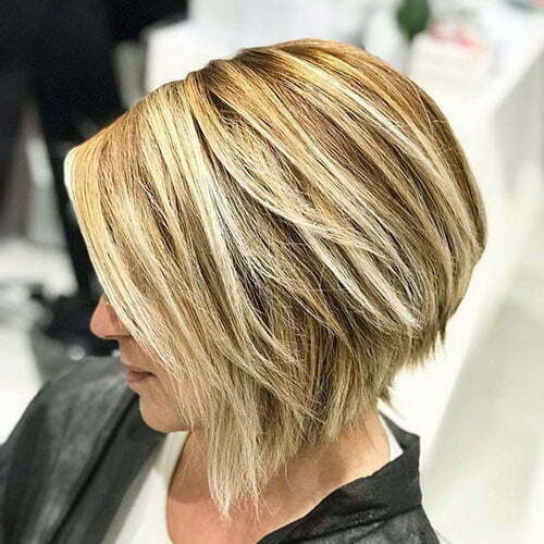 Blonde Highlights Bob