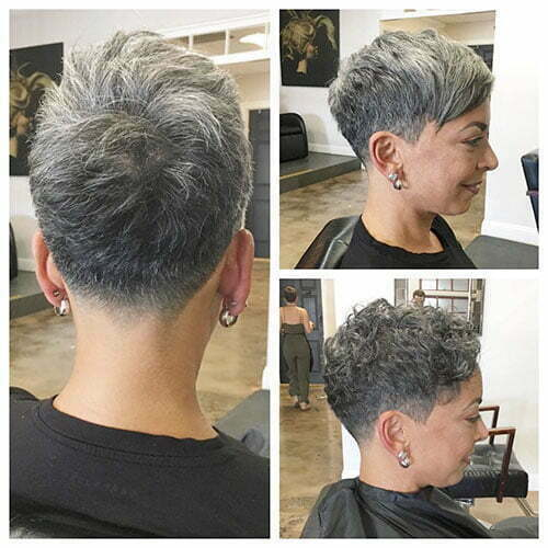 Short Pixie Cuts For Older Women