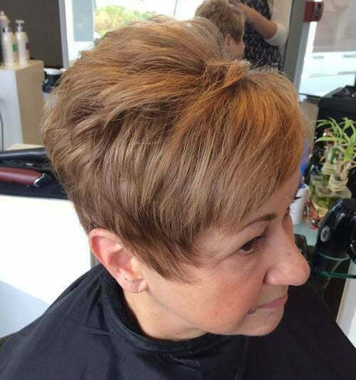 Best Short Haircuts for Women Over 50-25
