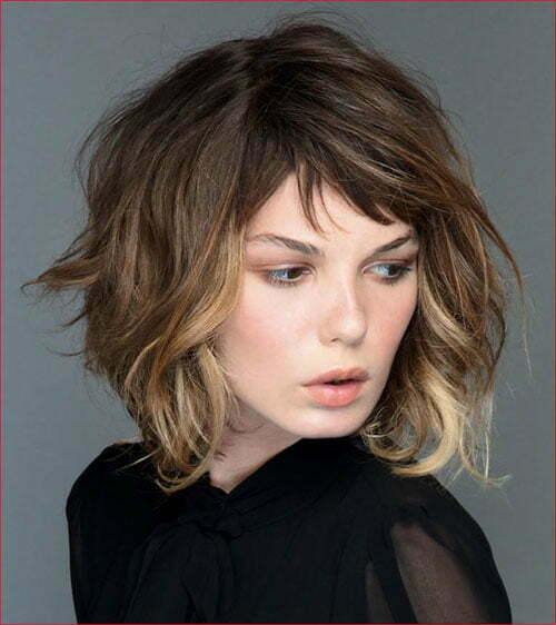 55 Best Short Layered Bob With Bangs & short-haircut.com