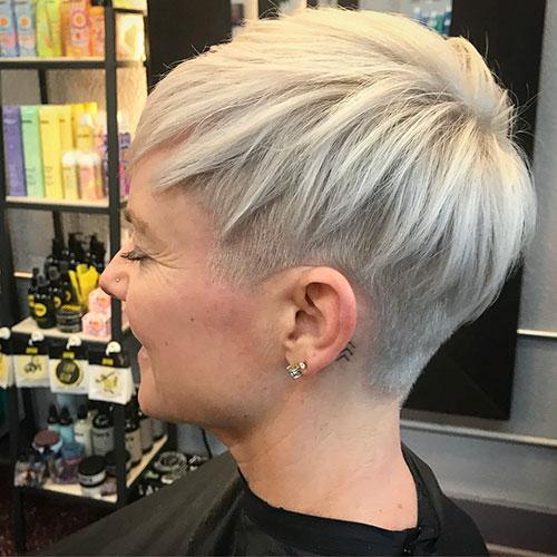 Kurze Pixie-Haarschnitte für Frauen