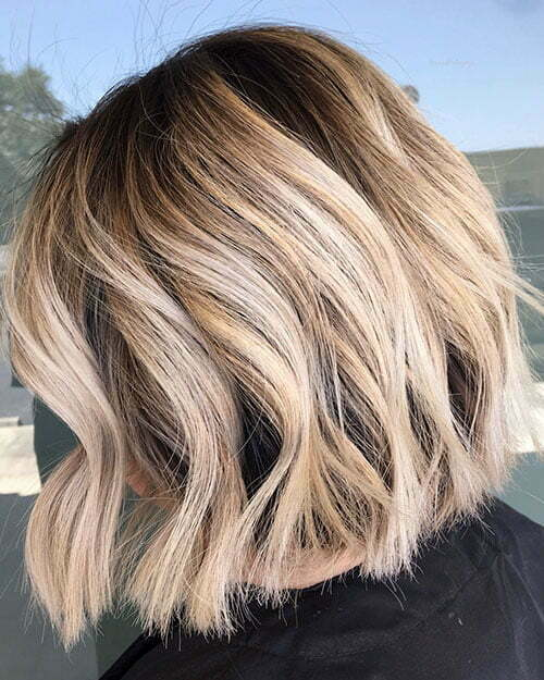 Short Blonde Hairstyles For Thick Hair