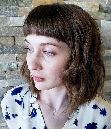 Quick Hairstyles For Short Hair With Bangs
