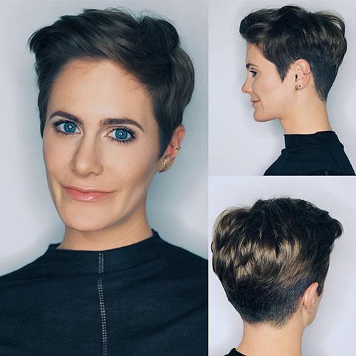 Pixie-Haarschnitte für Frauen über 40