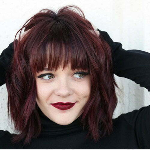 Cute Short Hairstyles With Bangs