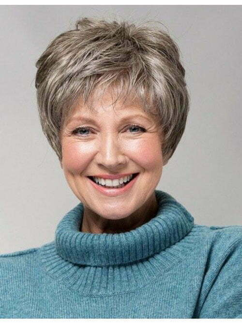 Pixie Hair Cut For Older Women