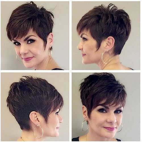Pixie Hair Styles For Older Women