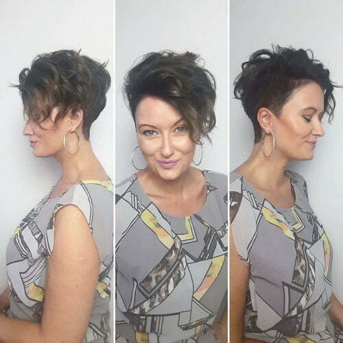 Older Women Pixie Cut