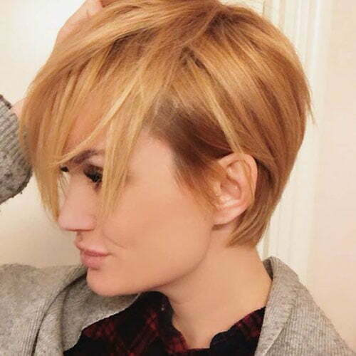 Popular Hair Colors for Short Hair-6