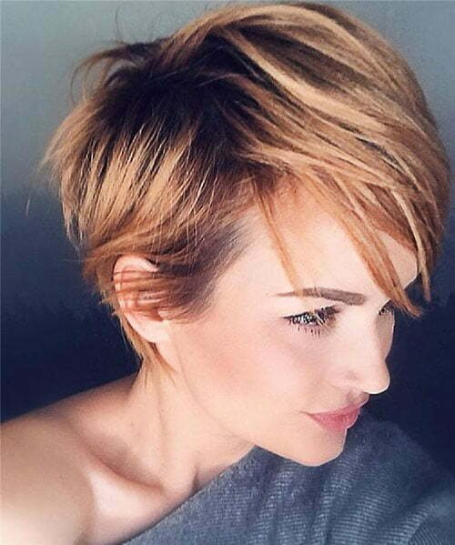 Popular Hair Colors for Short Hair-7