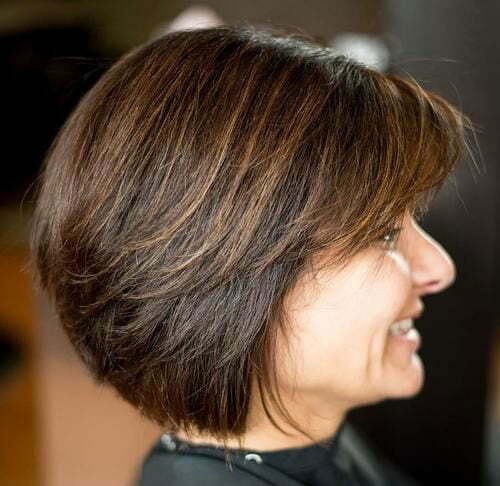 Best Short Haircuts for Women Over 50-8