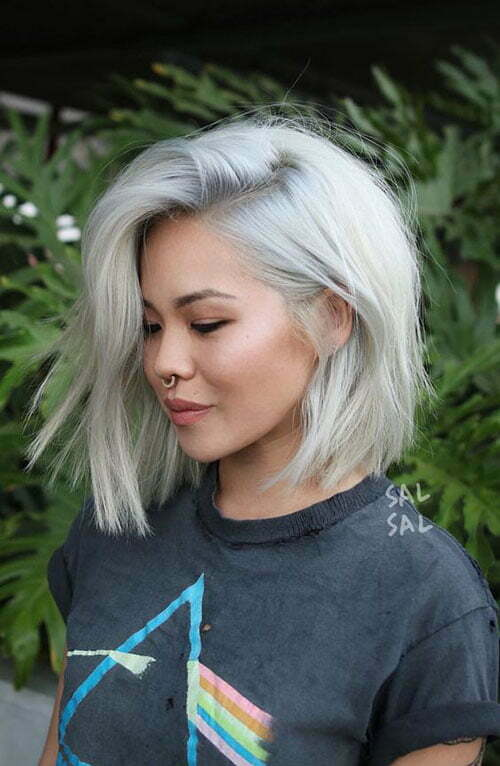Popular Hair Colors for Short Hair-8
