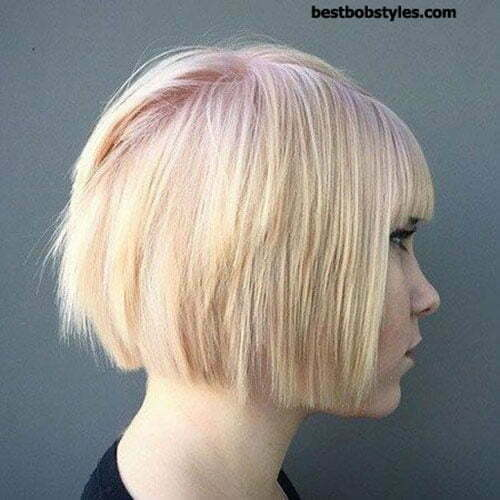 Popular Hair Colors for Short Hair-9