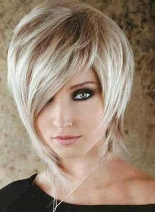 Classy Short Haircuts for Thick Hair
