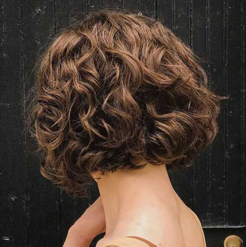 Curly Bob Cut Hairstyles