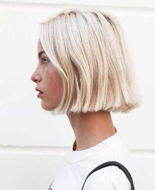 Modern Short Blonde BobHairstyles