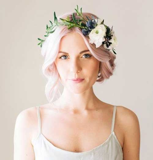 Wedding Hairstyles for Short Hair-15