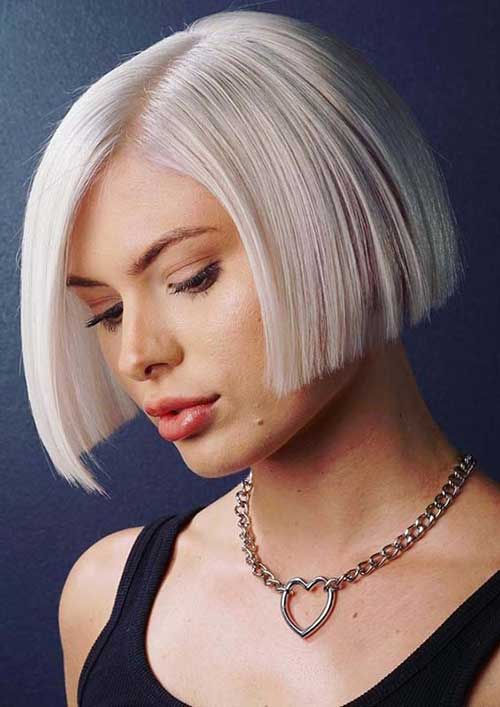 Modern Short Blonde Hairstyles-16