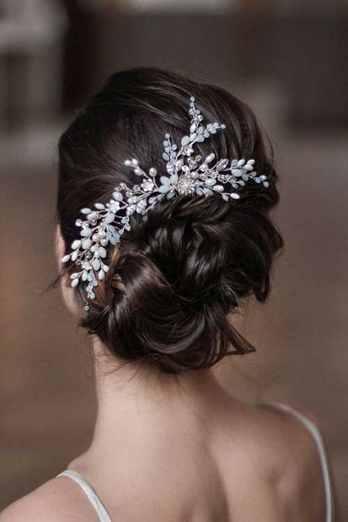Wedding Hairstyles for Short Hair-16