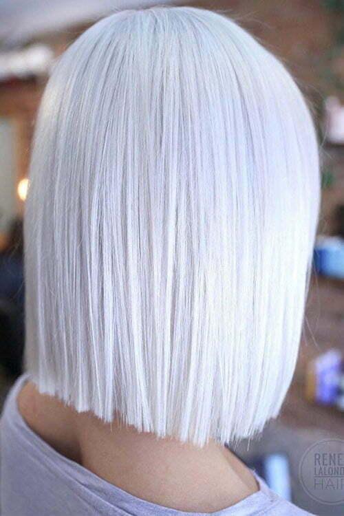 30 New Short White Hair Ideas 2019 Short Haircut Com