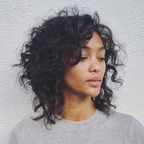 Short Natural Hair Styles for Black Women-19