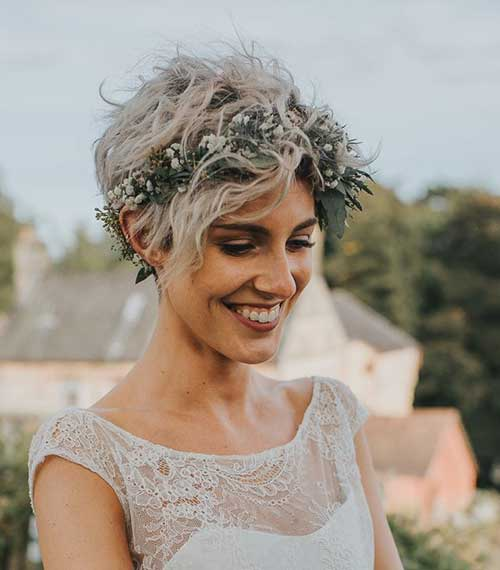 Wedding Hairstyles for Short Hair-19