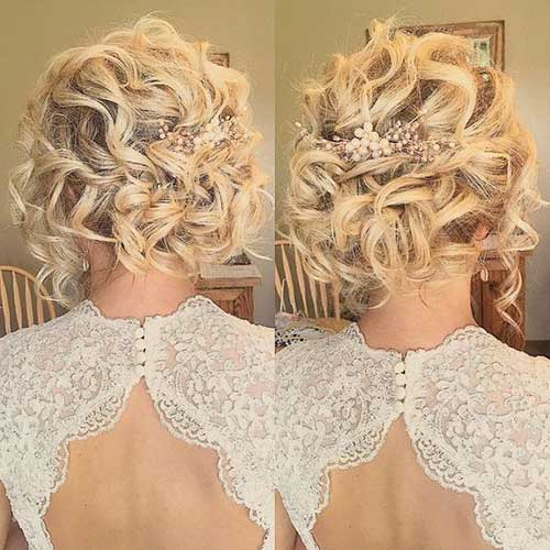Wedding Hairstyles for Short Hair-20