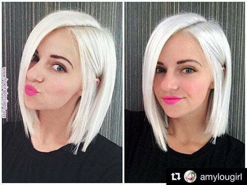 Short White Hairstyles