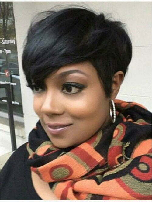 Hairstyles for Short Hair Black Women-22